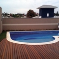 Piscina com prainha e spa - Vinheod /SP