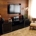 Sala Estar Painel e Home Theater