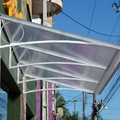 Toldo fixo decorativo