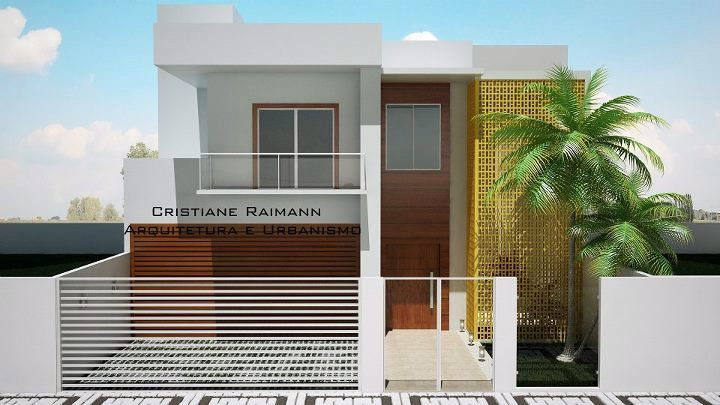 Related Pictures pin projeto residencial casa geminada thiago olivieri ...