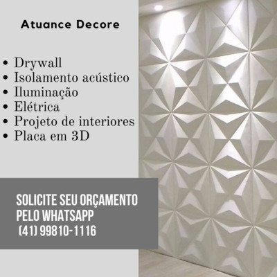 Atuance Decore Drywall | Contratante Drywall Decore