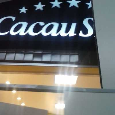 Finalizando a Obra Cacau Show - Shopping Center Rio Claro
