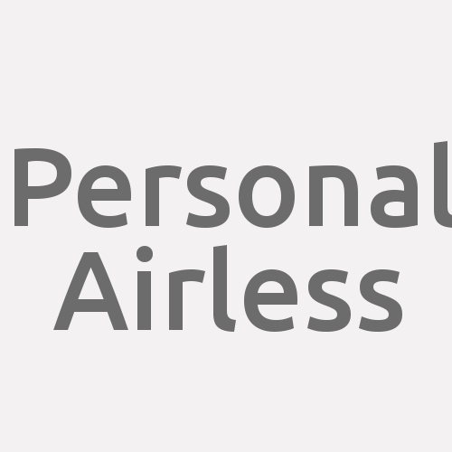 Personal Airless