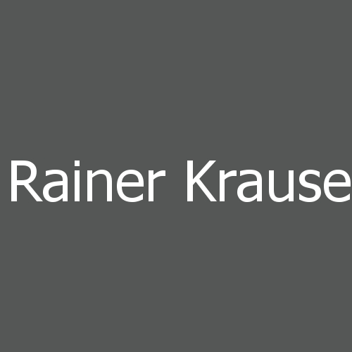 Rainer Krause