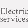 Electric Services.