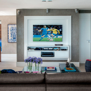 sala com home theater