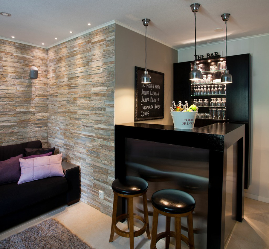 ideias criativas para ter um bar em casa ideias designer de interior. Black Bedroom Furniture Sets. Home Design Ideas