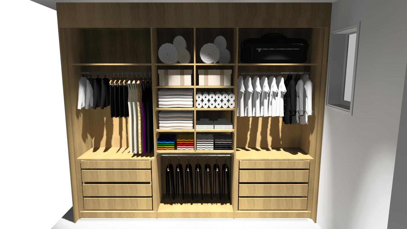 large closet and plane - photo #28