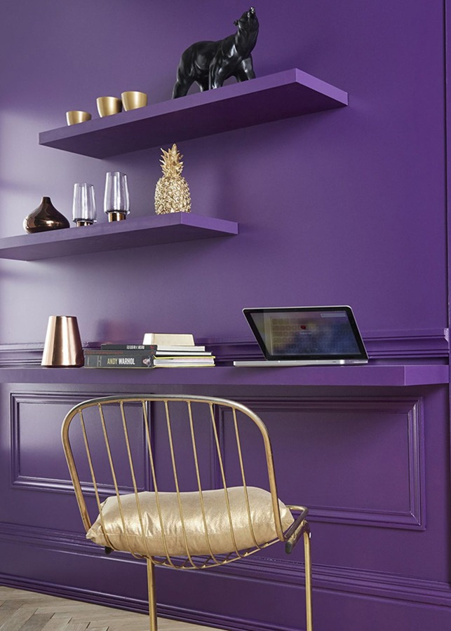 home office ultra violet