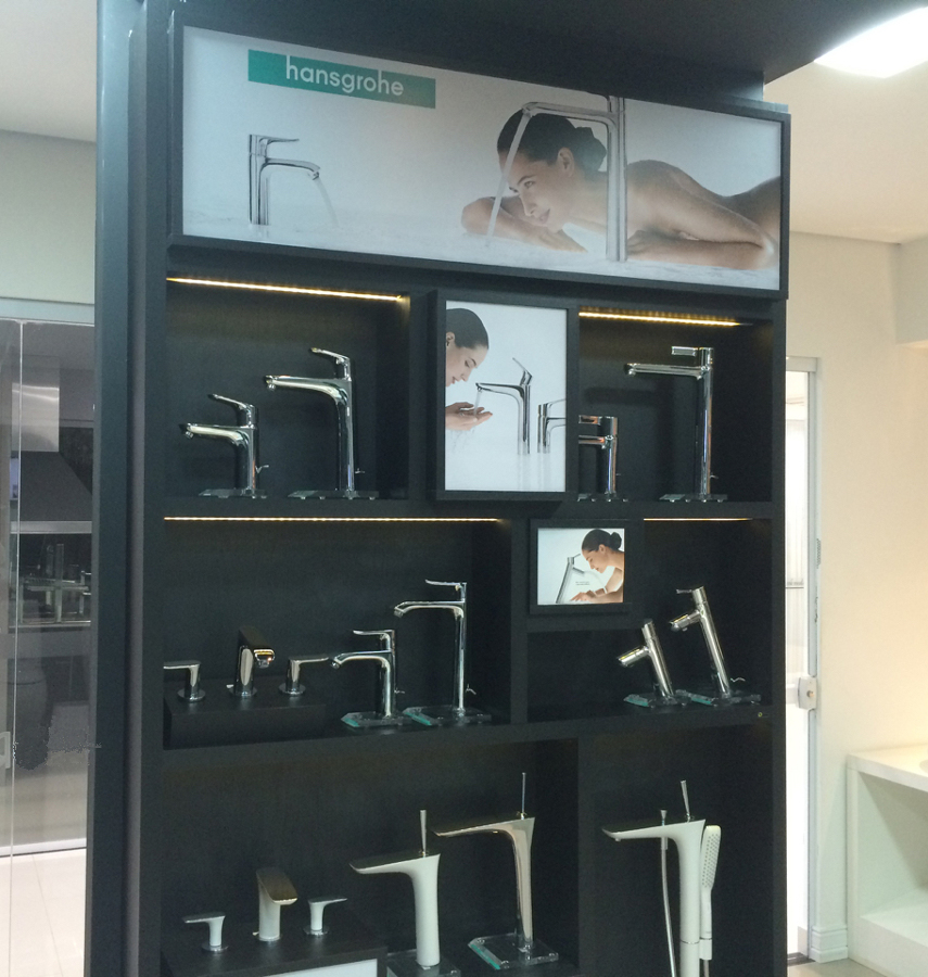 Painel - Hansgrohe