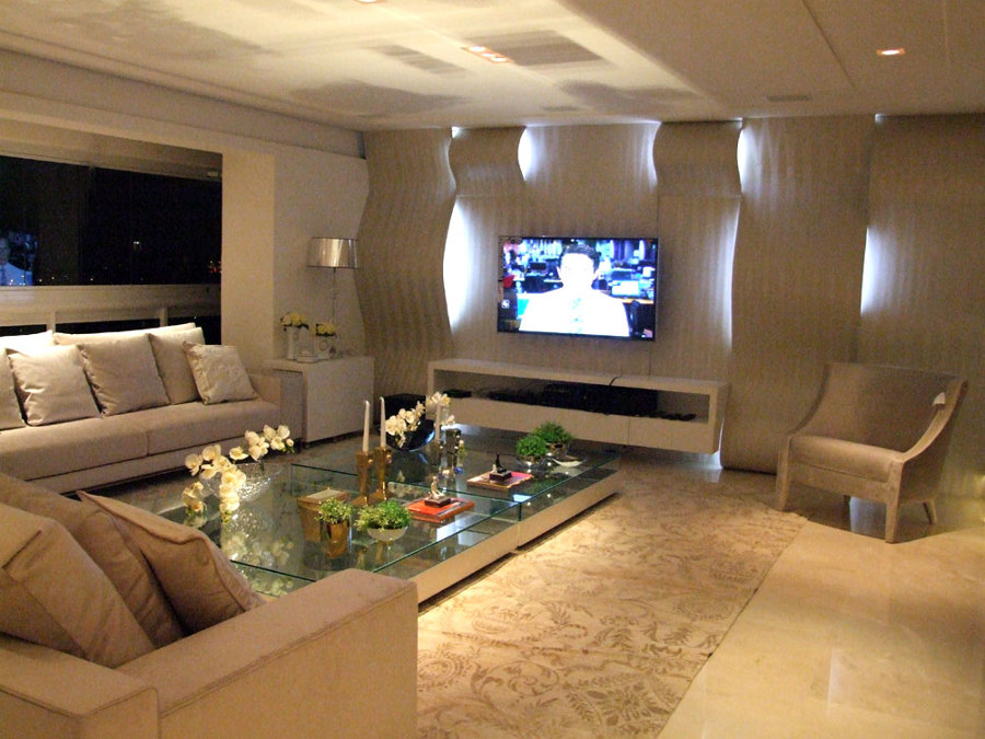 Sofa Para Sala De Tv ~ Painel Sala tv on Pinterest  TVs, Madeira and Tv Walls