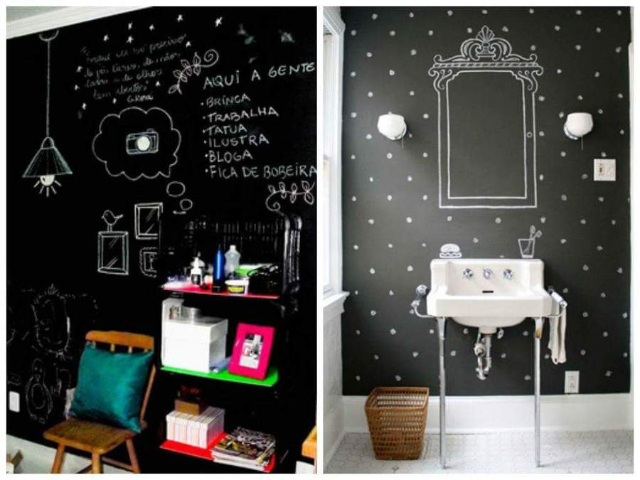 Pintura Decorativa Black Wall