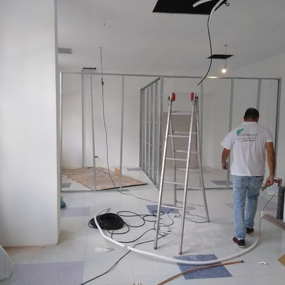 DRYWALL EM LOCAL COMERCIAL