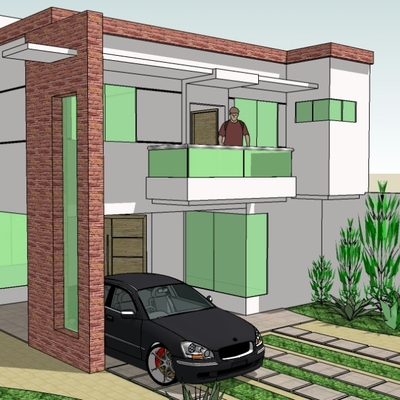Projeto Casa Residencial Forest Hill