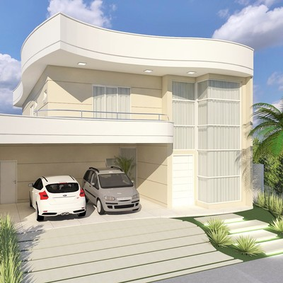 Projeto Residencial - Residencial Basel - Swiss Park, Campinas-SP