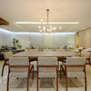 Jantar e Living integrados - PentHouse ARA