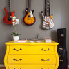 Parede guitarras home studio