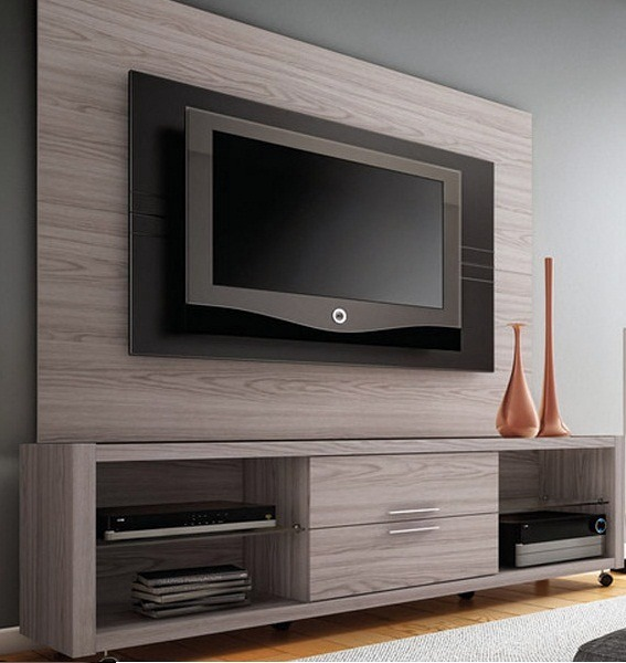 Rack E Painel Para Sala Pequena ~  sala wall panel tv wall tv room para tv panel de tv forward http